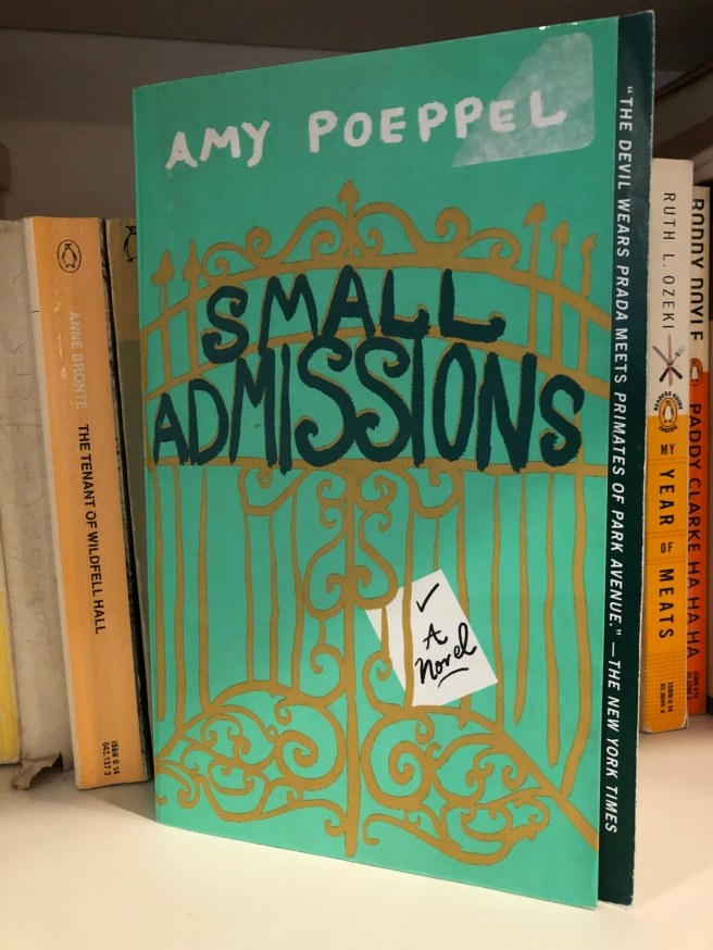 Cover of Small Admissions by Amy Poeppel
